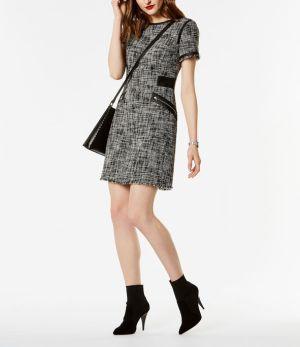 Vestido sastre de tweed. Karen Millen