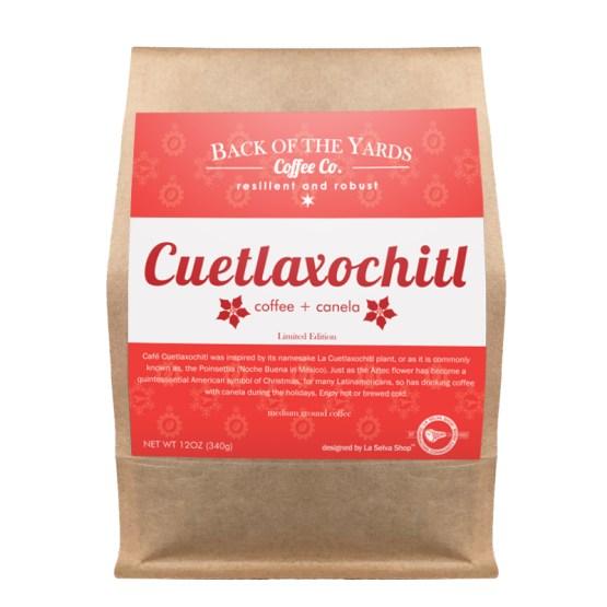Cuetlaxochitl coffee bag