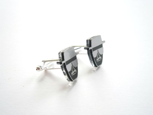 Breaking Bad Heisenberg Cuff Links - Laser Cut Walter White Cufflinks