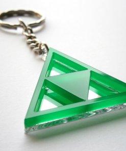 Zelda Triforce Keychain