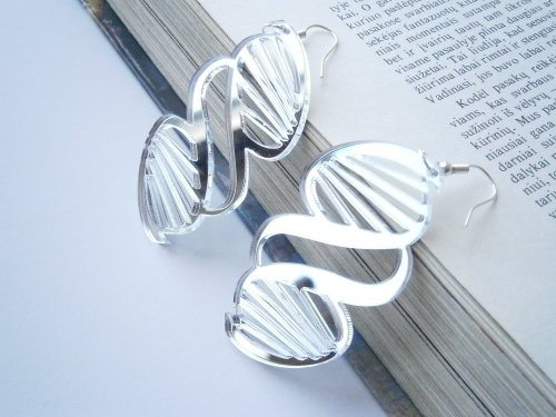 DNA Science Earrings