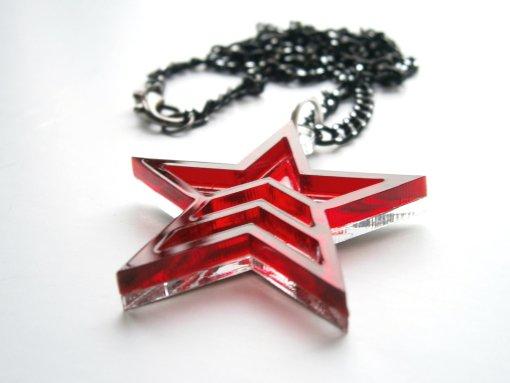 Mass Effect Renegade Pendant Necklace - Mass Effect Jewelry