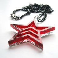 Mass Effect Renegade Pendant Necklace - Mass Effect Jewelry