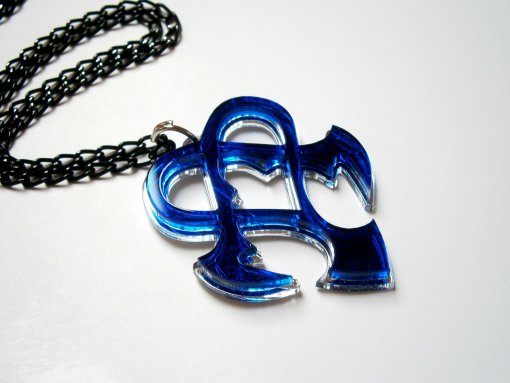 Kingdom Hearts Nightmare Dream Eater Emblem Necklace