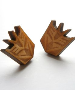 Transformers stud earrings