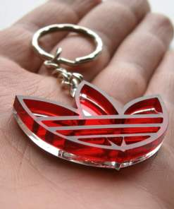 Adidas keychain red transparent2