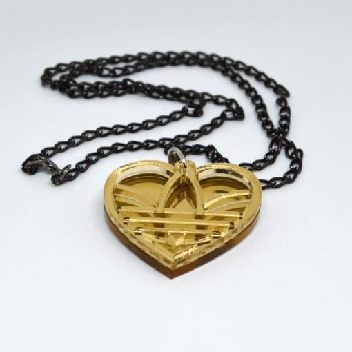 Adidas Necklace Golden Heart
