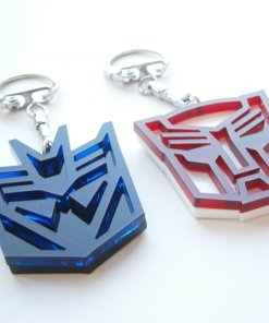 Megatron and Optimus Keychains 3