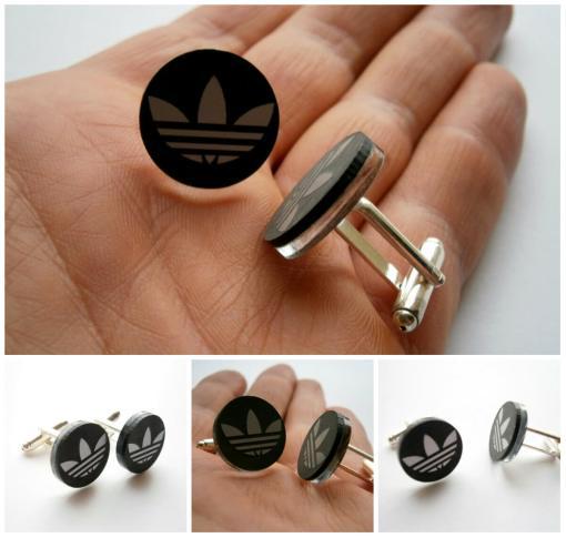 adidas black mirror cufflinks5