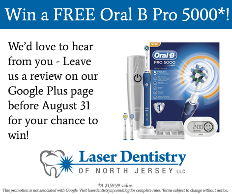 win an oral-b toothbrush