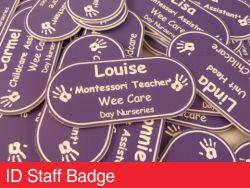 ID Staff Badge