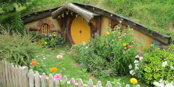 Cozy hobbit hole
