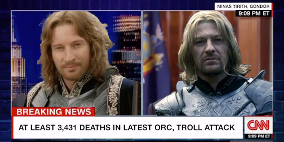Faramir and Boromir, CNN