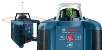 Bosch GRL 250 300 calibration