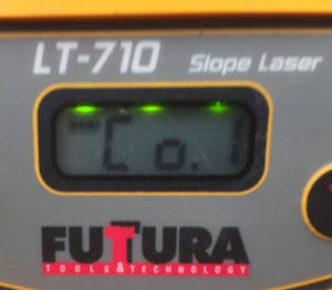 Futtura LT-710 X axis Calibration