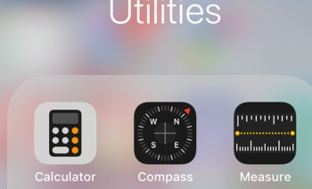 Apple iOS12 Measure app