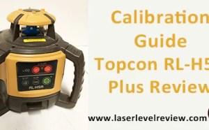 Calibration Guide Topcon RL-H5A
