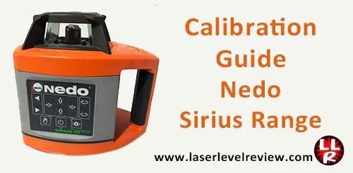 Calibration guide Nedo Sirius