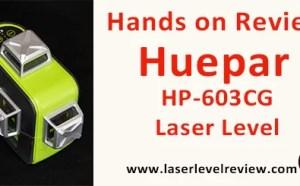 Review Huepar 3D line Laser HP-603CG
