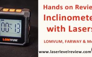 Lomvum farway digital angle finder inclinometer review