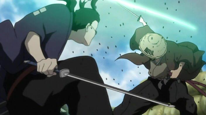 Samurai Champloo Jin vs Kariya