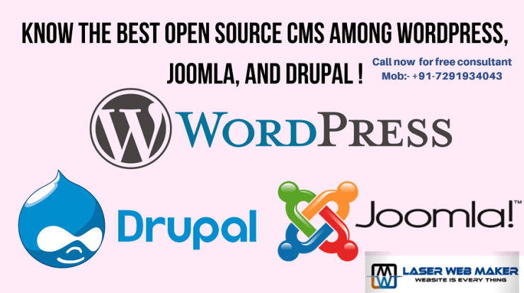 Best Opensource CMS By Laser Web Maker