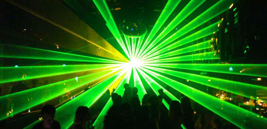 club laser