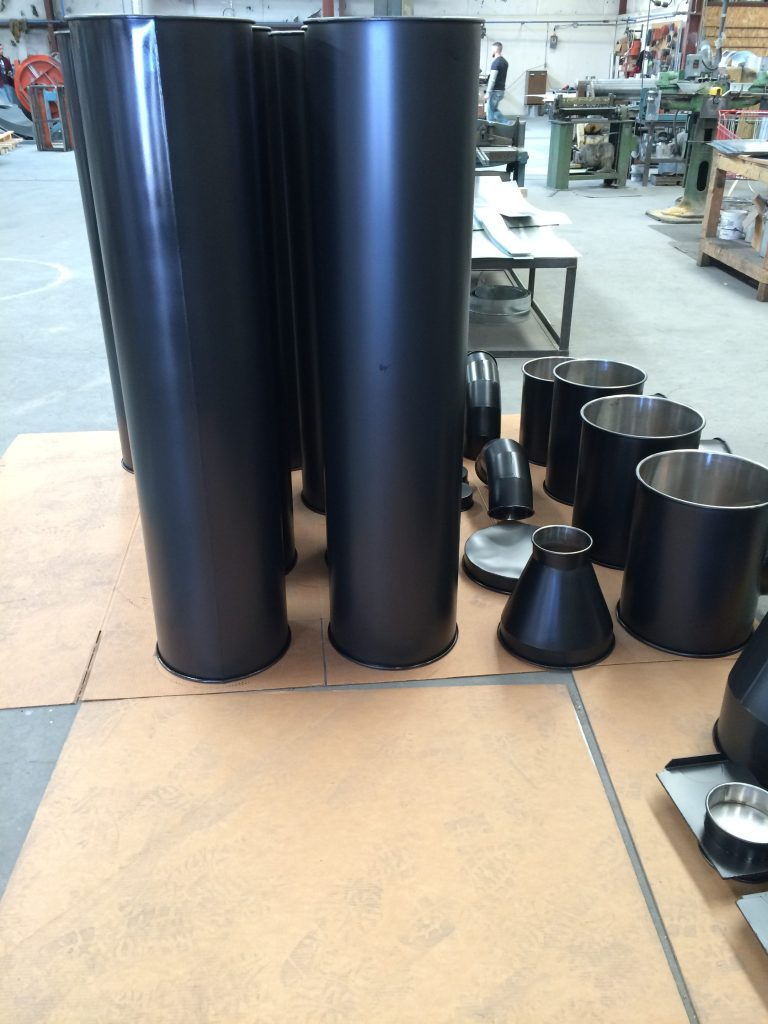 stainless steel hvac ducts