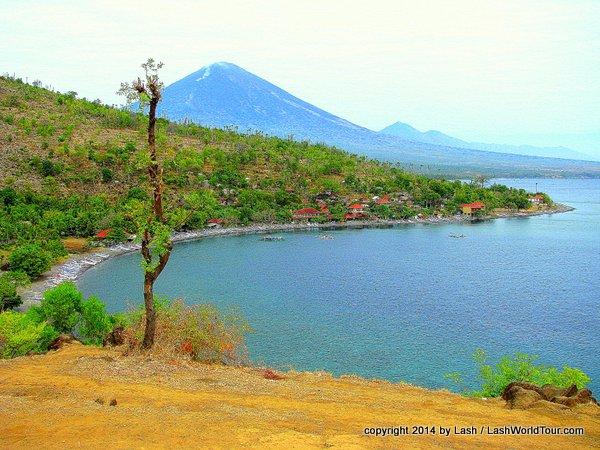 Amed coastline