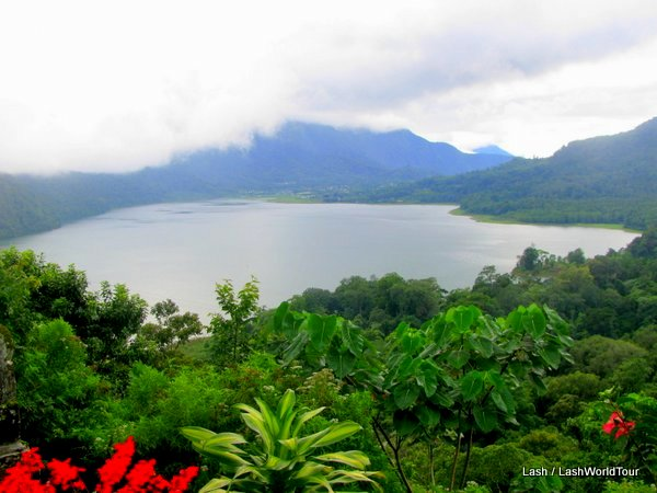 Lake Buyan in central Bali