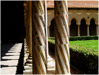 Claustro de la catedral de Monreale