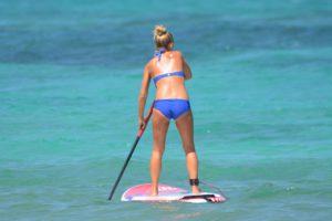 Le paddle femme