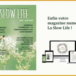LA SLOW LIFE – votre magazine numérique n°1