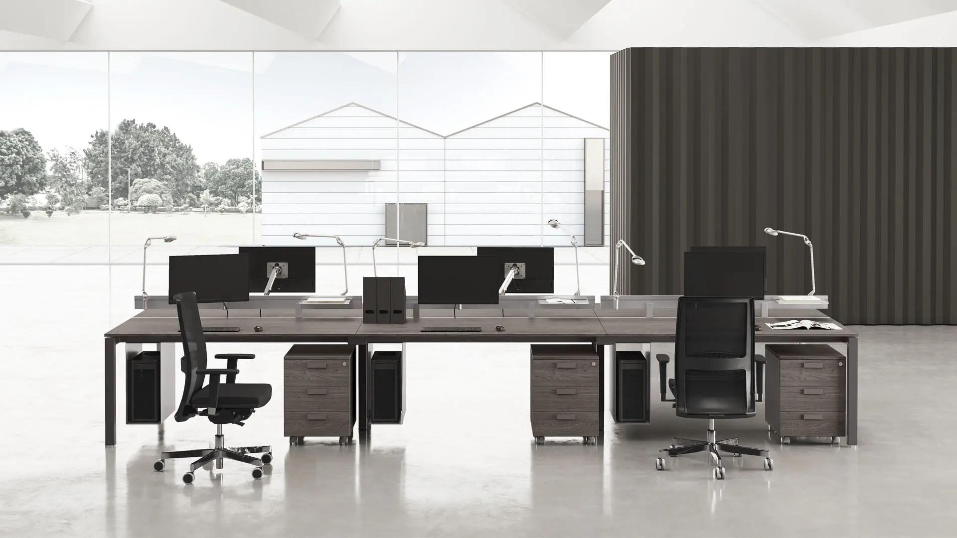 Comprensivi di progettazione, fornitura, montaggio, posa in opera ecc. Arredamento Per Ufficio Moderno Elementi E Caratteristiche Las Milano