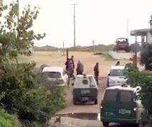 Sector de Las Salinas en Las Cruces.
