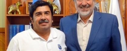 Alcalde Emilio Jorquera y Alejandro Guillier.