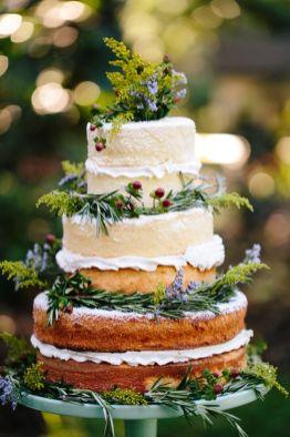 Naked cake nature