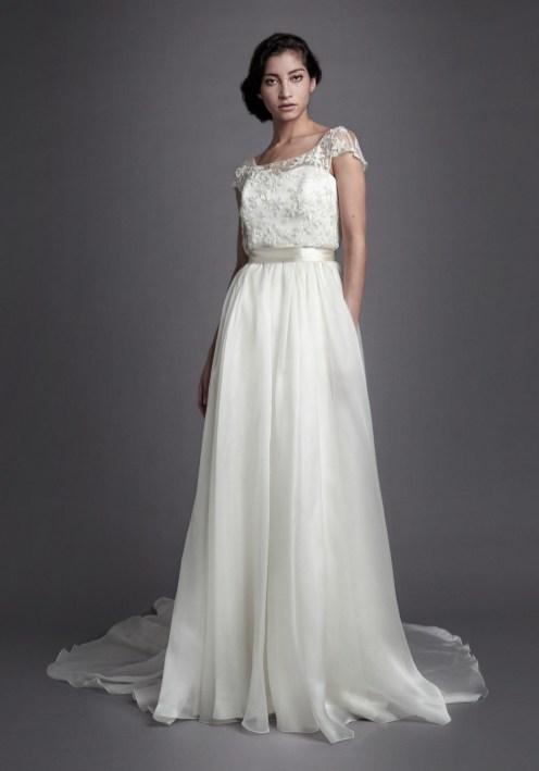 Robe de mariée Alma-Marceau Christophe-Alexandre Docquin - La Soeur de la Mariée - Blog mariage