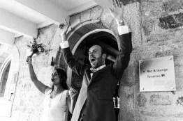 arrivée-des-mariés-mariage-vintage-finistere-bretagne-lasoeurdelamariee-blog-mariage