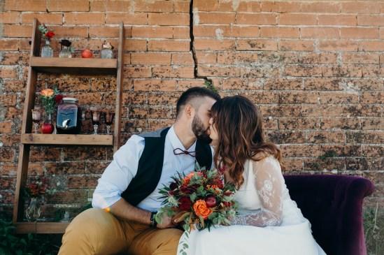 Un mariage en automne à Toulouse