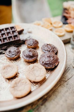 buffet chocolat à un mariage