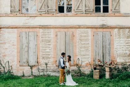 mariage en automne à Toulouse