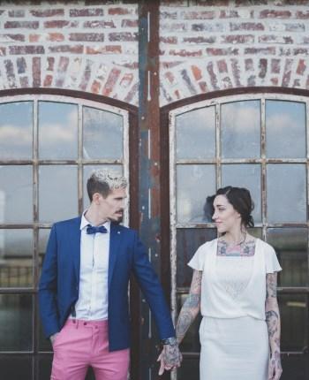 Shooting d'un mariage industriel