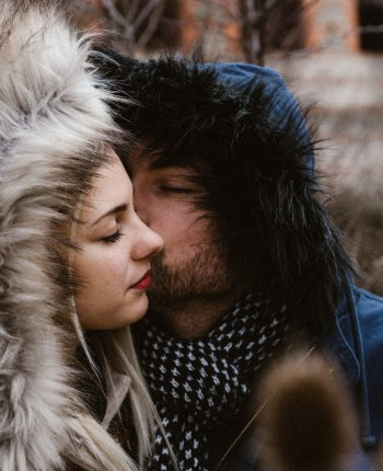 Love session en hiver