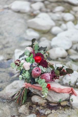 Bouquet de mariée bohème