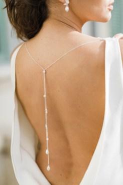 Isabelle Bijou de dos amovible pour robe de mariée dos nu