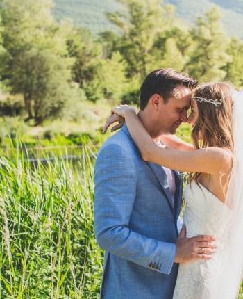 Le mariage provençal d'Anna et Arsène