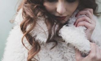 Manteau pour une mariée en hiver