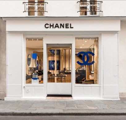 Boutique Chanel dans le Marais à Paris