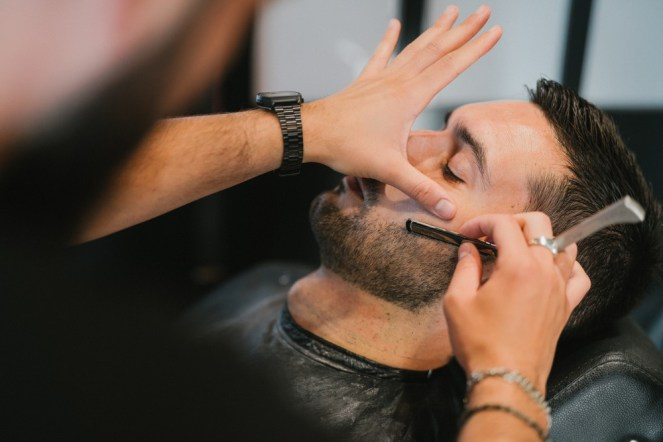 Barbier pour le marié